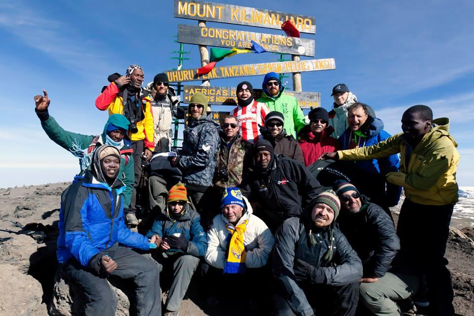 Kili Crew at the Uhuru Peak